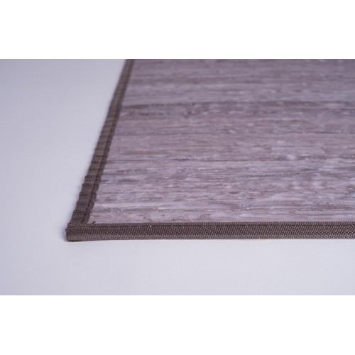 ALFOMBRA NAGAL MARRON 140 X 200
