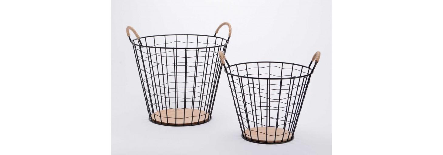 Cajas y cestas para almacenar o decorar